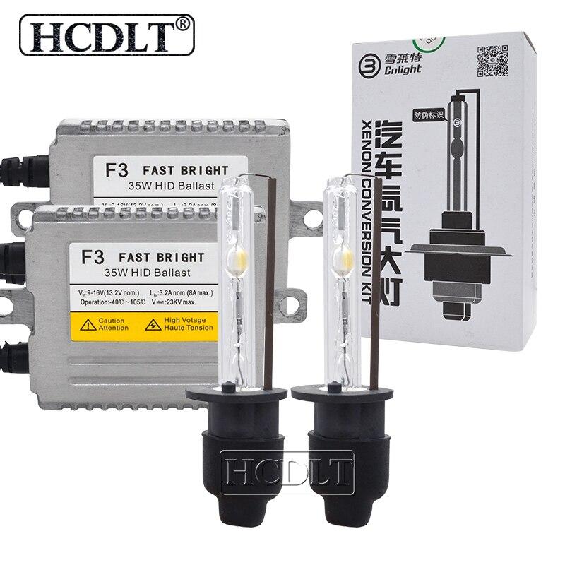 HCDLT 35W Cnlight Car Headlight Kit Xenon H7 4300K 5000K 6000K Cnlight H1 H3 H11 HB3