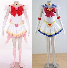 Disfraces de halloween para las mujeres sailor moon cosplay del traje del anime ropa fancy dress girls custom