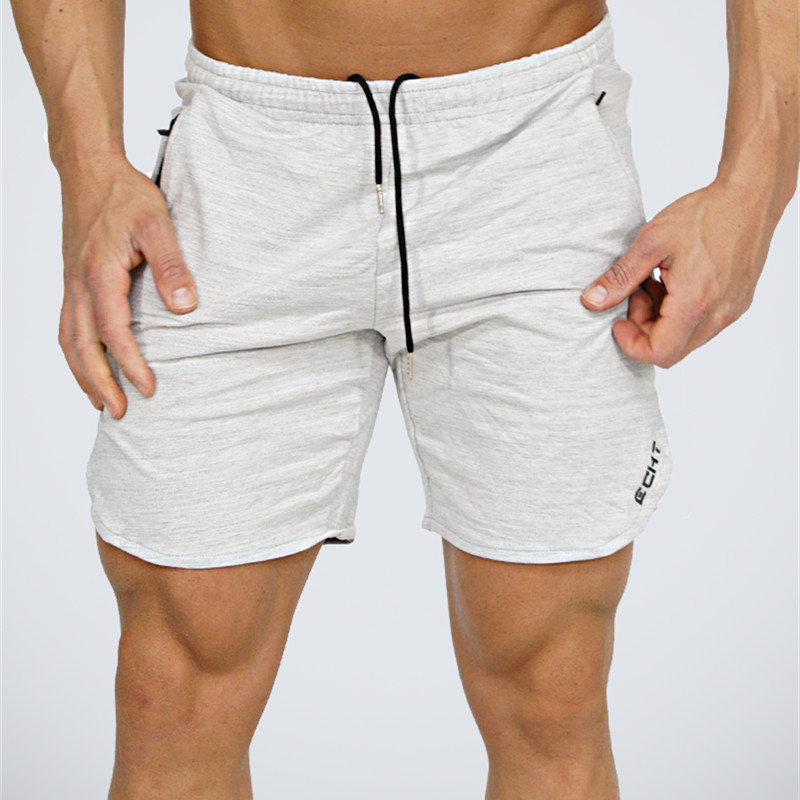 Summer shorts hommes Veau-Longueur Fitness Bodybuilding mode Casual gymnases Joggeurs d'entraînement Crossfit Marque pantalon court pantalons de Survêtement