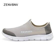Zenvbnv 36-47 летние дышащие удобные сетчатые Мужская обувь для бега Lover's кроссовки прогулочные мужской уличный Спортивный Легкие кроссовки