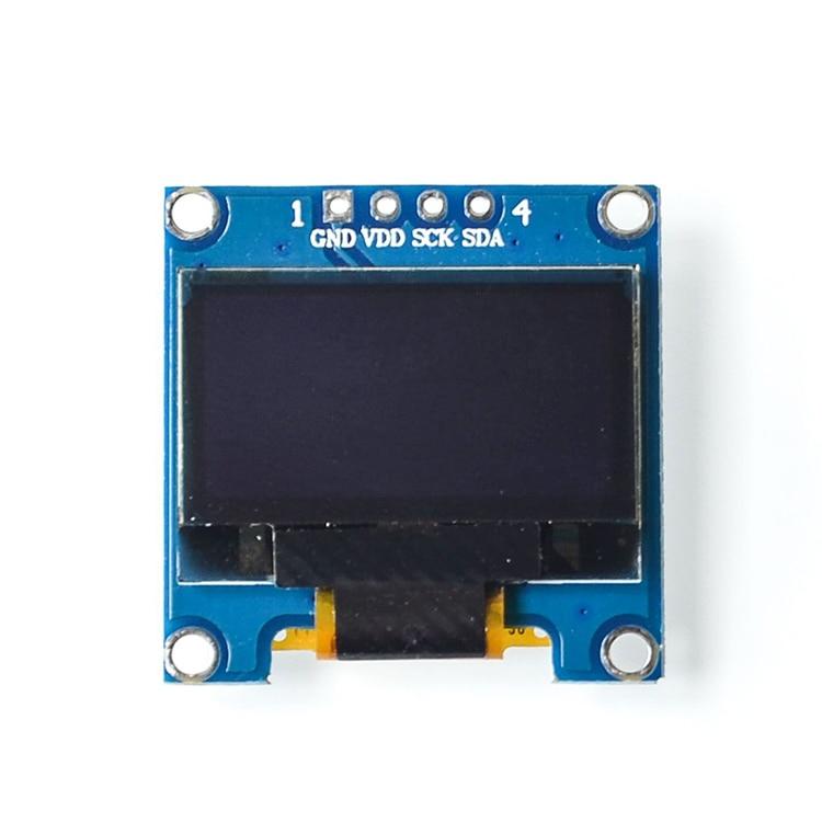 0.96 Inch IIC Serial OLED Display Module Yellow Blue 128X64 I2C SSD1306 12864 LCD Display Screen Board 0.96