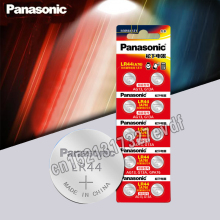 Cell-Battery Button Lithium-Coin-Batteries SR44 Panasonic A76 AG13 LR44 G13A 357A LR1154