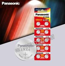 Panasonic-baterias de lítio tipo moeda, pilhas tipo botão lr44, 1.5V, células A76 AG13 G13A LR44 LR1154 357A SR44, 10 unidades, 100% original