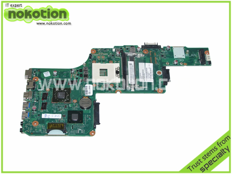 PN 1310A2509902 SPS V000275250 Laptop motherboard For toshiba Satellite L855 S855 Intel HM77 ATI HD 7670M Graphics Mainboard mundorf mkp mcap supreme silver gold oil 1000 vdc 0 1 uf