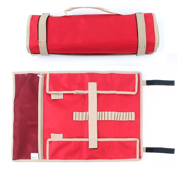 Outdoor Camping Tent Accessories Hammer Wind Rope Tent Pegs Nail Storage Bag For Camping Tent S 34cm M 44cm