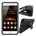 for Huawei Y5 2 Case Heavy Duty Defender Hybrid TPU+PC Silicon Armor Tough Dazzle Shockproof Kick Stand for Huawei Y5II Y5 II