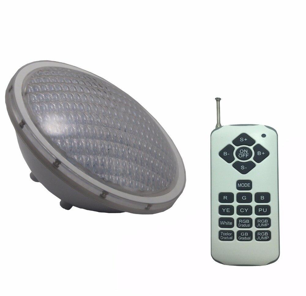 Projecteur LED Exterieur PAR56 Spotlight LED Fountain Lighting 24W 36W Swimming Pool Light RGB Flood Projector 12V Fountain IP68