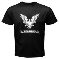 Gildan Alter Bridge Rock Band Logo Men Black T Shirt S M L XL Free Shipping
