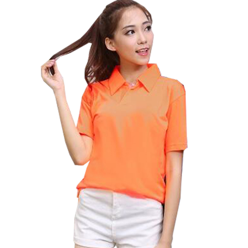 Brand Women Quick Dry Polo Cotton Woman Slim Breathable Polo Shirt Female  Summer Tops Plus Size Femme Polos Camisa Polo XXXL