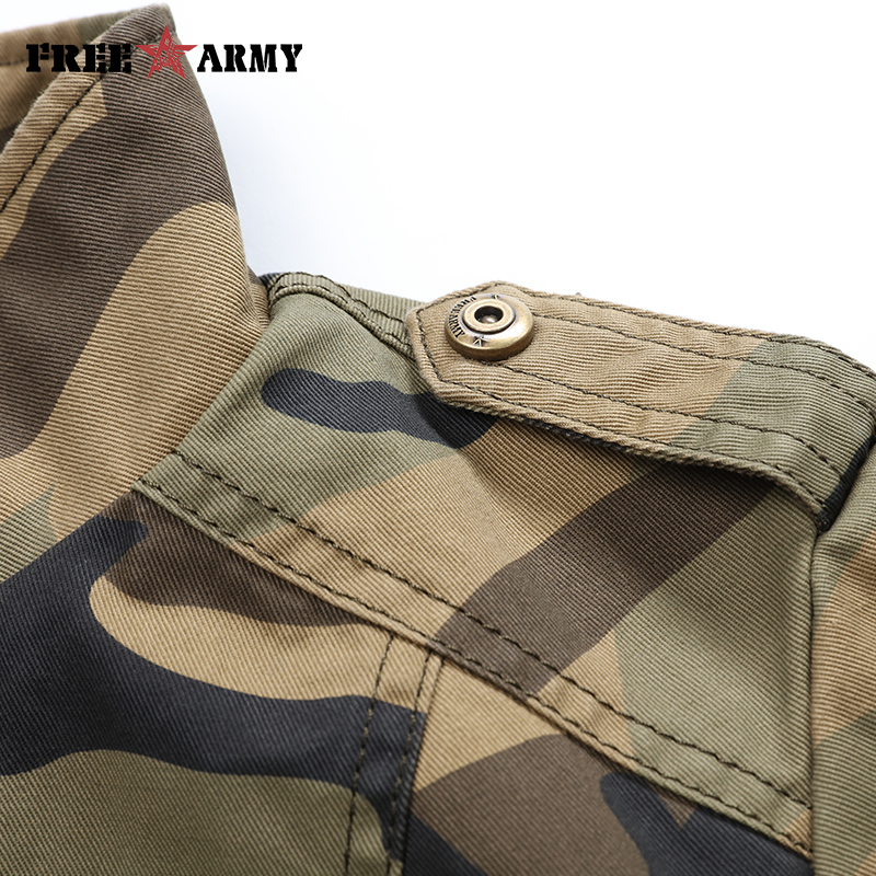 Autumn Military Jackets Women 2018 New Arrival Female Camouflage Jacket Fall Thick Jackets For Womens Coat Spring Autumn Outwear in Jackets from Women 39 s Clothing