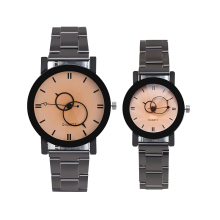 Fashion Luxury Men Steel strap Quartz Watch Clock Women Dress Ladies Watches Casual Lovers Couple