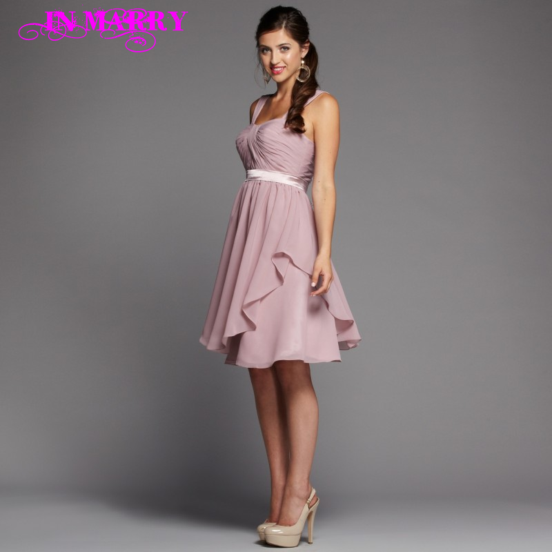 Dusky pink party dress for Dusky pink wedding dress