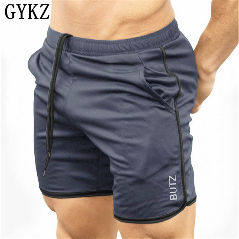 GYKZ 2018 Mens Shorts Casual Breathe Freely Brand Sexy Sweatpants Male Fitness Shorts Men Fashion Men Short Summer Fast Drying