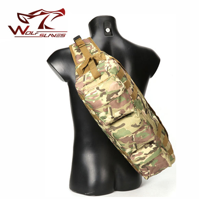 Tactical Hunting Backpack Military Camping Outdoor Sport Long Bags Transformers Charge Package Sports Bottles