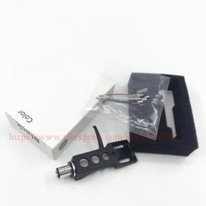 Image 1 - Nieuwe 1Set 4 Pin Contacten Zwart Draaitafel Headshell Voor Technics Voor Andere Draaitafels Fit Phono Draaitafels Headshells