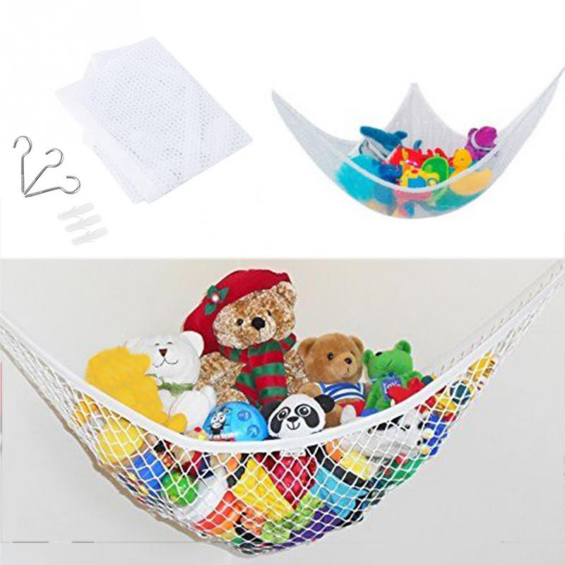 Mother & Kids Lovely Foldable Organize Holder Storage Hammock Ultralight Large Storage Net Bedrooms Playroom Storage Toys And Sports Equipment #15