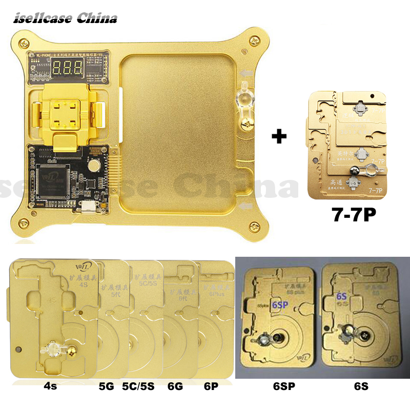 Wozniak IMEI EEPROM Baseband IC Chip Read Write Copy Repair Test Motherboard Tool for iPhone 4s 5 5c 5s 6 7 Plus 7p programmer 2piece 100% new for ite it8517vg hxs bga ic for motherboard repair