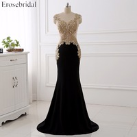 Real Image Appliques Evening Dress Sleeveless Beading Crystal Floor Length Formal Evening Gown YY189