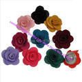 wholesale hot sale high quality Cloth art flower snap buttons for snap bracelets fit button jewelry snaps necklace