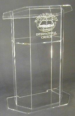 fashion new style colorful design modern acrylic podium, Transparent acrylic glass podium, Frosted acrylic podium