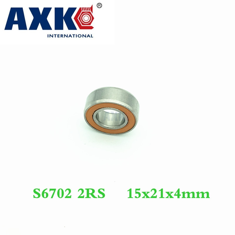 Axk 15x21x4 S61702 2rs Cb / S6702 2rs Cb Abec7 15x21x4mm Stainless Steel Hybrid Ceramic Ball Bearing samsung rs 21 fcsw page 7