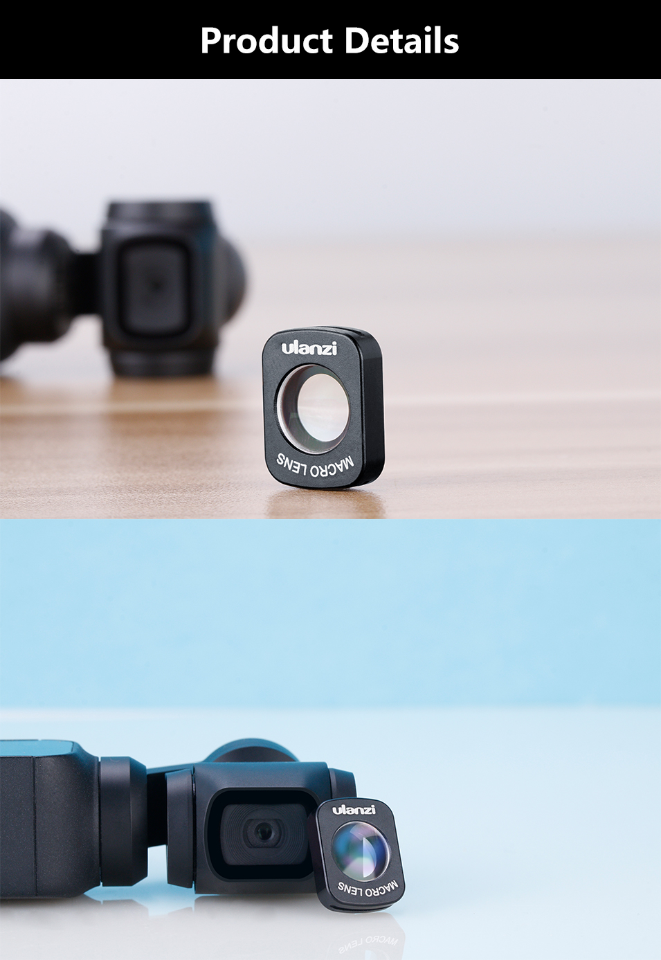 wide angle macro lens for osmo pocket