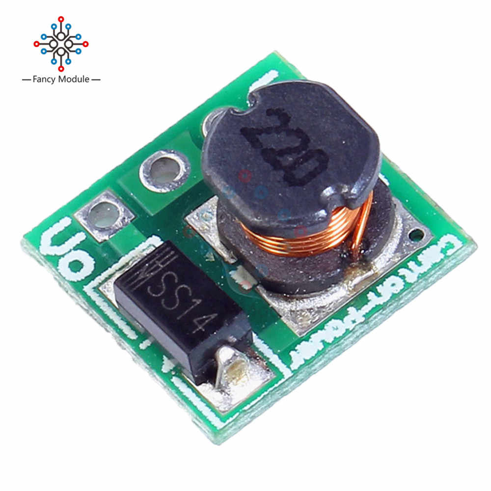 5 * DC DC 1.8 V 2.5 V 3 V 3.3 V 3.7 V à 5 V augmenter la tension d'alimentation Boost convertisseur carte Module régulateur pour 18650 li-on batterie