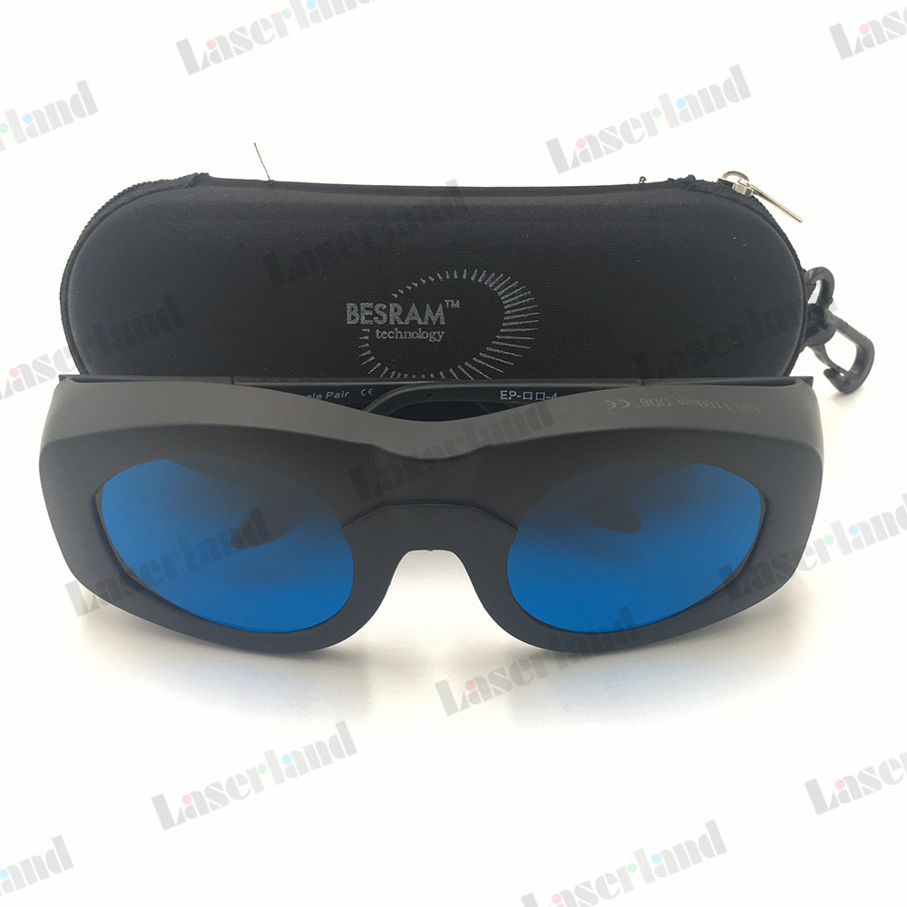 600nm-1100nm 635nm 650nm 780nm 808nm 980nm 1064nm OD6+ Laser Protective Goggles Safety Glasses CE Marked EP-14-4