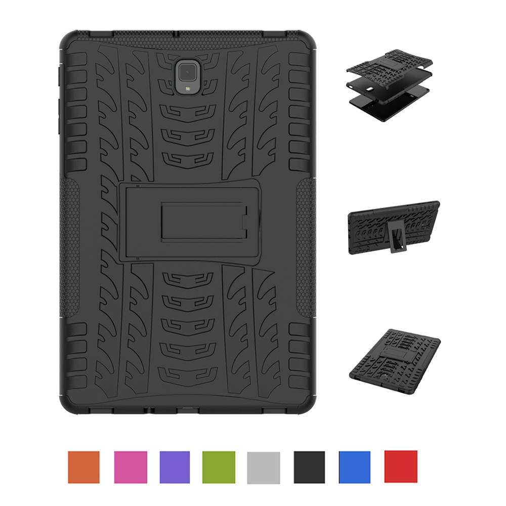 Case For Samsung Galaxy Tab S4 10.5 Inch Case T830 T835 Shockproof Armor Hard PC With Silicon Tablets Books Case Cover Shell