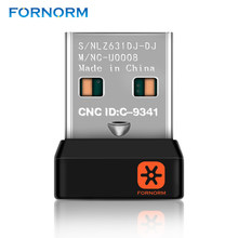 FORNORM Mini USB Network Wireless Receiver Dongle for Unifying Wireless Keyboard With 6 Channel Dongle One-to-many connection(China)