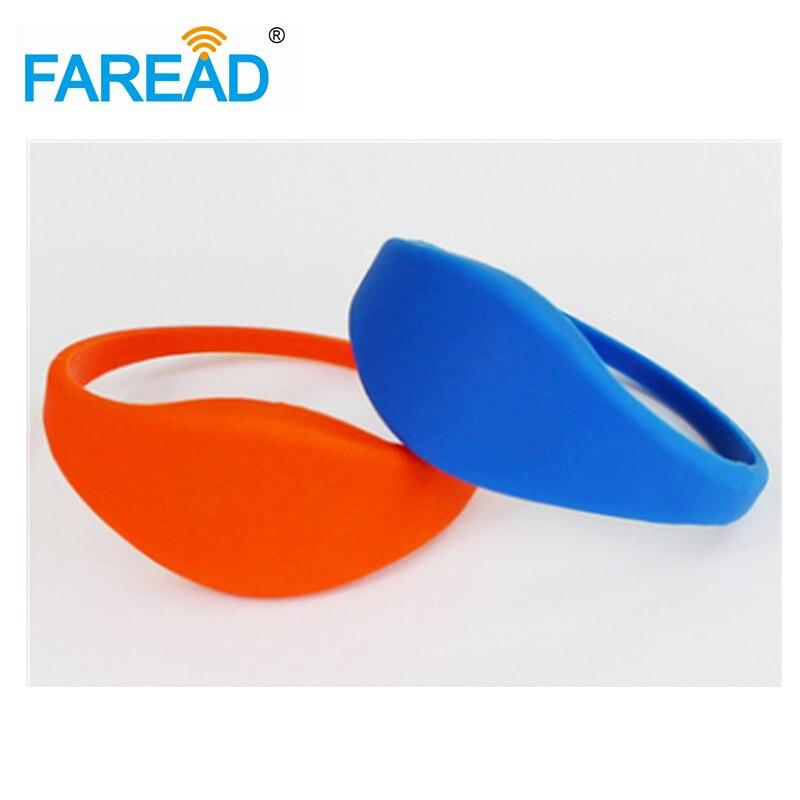 X100pcs Free Shipping UHF Alien H3  RFID Wristband  For Supermarket, Amusement Park, Theme Park