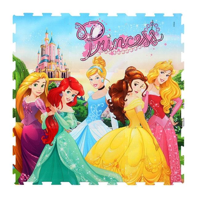 Tro choi disney princess room decor