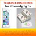 10 шт./лот защитная пленка стекло для iPhone4 4S 5 5S SE Премиум Закаленное Стекло Протектор Экрана Для iPhone5 HD закаленное