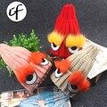 Illfly Sobrancelha Barba Pele Caps Para Adultos Crianças Chapéu Do Inverno para o Menino Quente Tampas de Malha Meninas Miúdos Dos Desenhos Animados Skullies Gorros Sólida