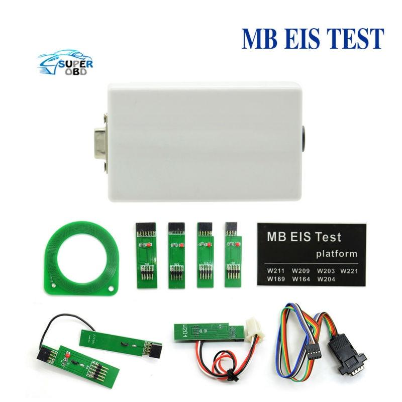 Prix pour Pour NOUVEAU MB EIS W211 W164 W212 MB EIS Plateforme de Test MB Auto Clé Programmeur Pour Benz Livraison Gratuite