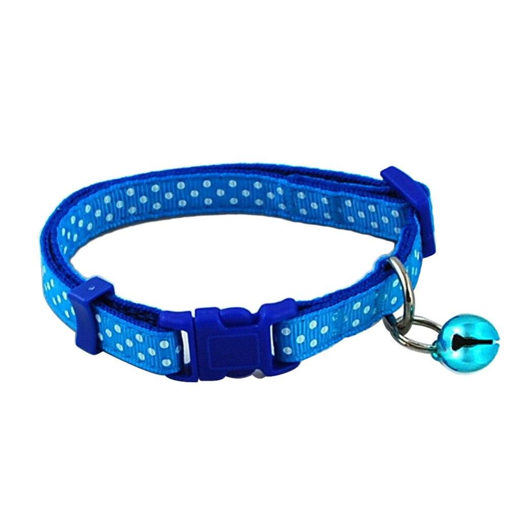 Small Pet Collar Blue