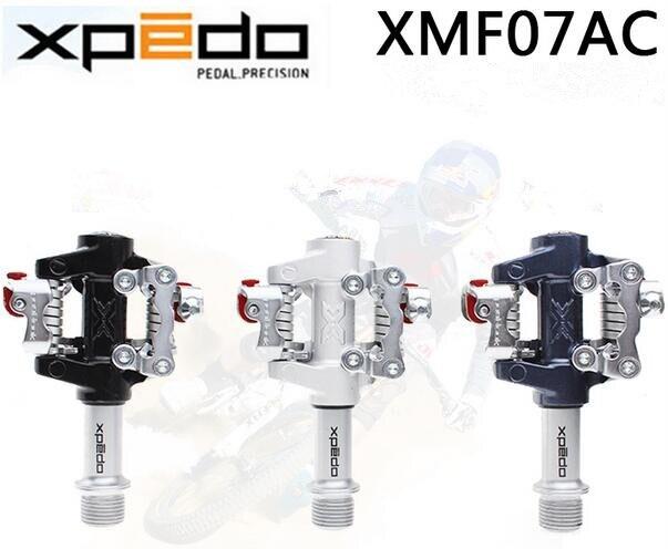 Pédales de VTT vtt Wellgo Xpedo XMF07AC haut modèle avec crampons SPD Compatible pour bande de roulement ultra XT/M780 - 2