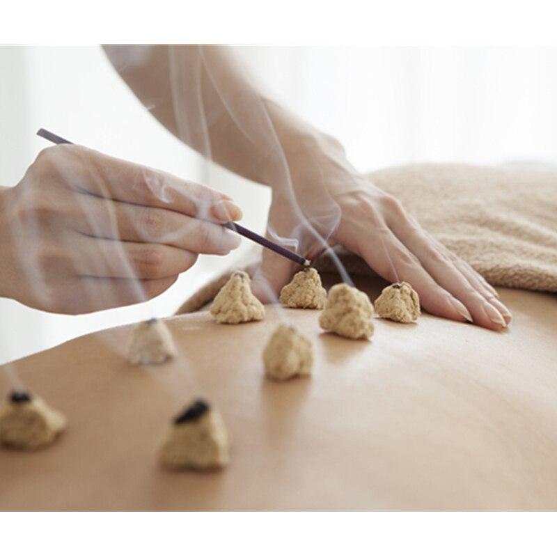 Fünf Jahre Hohe Reinheit 35: 1 Goldene Moxa Punk Moxibustion Lose Gold Moxa Stick Rolle Traditionellen Chinesischen Akupunktur Massage
