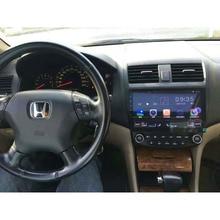 ChoGath Android 7.0 Quad core 10.1″ Car radio GPS Navigation for HONDA Accord 7 2003-2007 support steeling wheel control