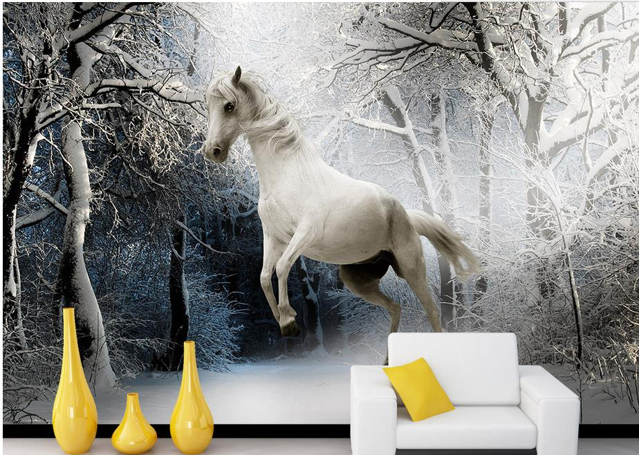 custom 3d wall murals wallpaper Steed Non-woven 3d wallpaper walls Living room TV backdrop kitchen wallpaper