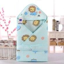 Весна муслин пеленание одеяло хлопка аден anais одеяло спальный мешок infantil конверт couette enfant wikkeldeken inbakeren