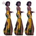Afrikaanse kleding vrouwen voor vintage maxi dress sleeveles vestidos para as mulheres em roupas africano dashiki africano outros wy1310
