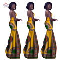 afrikaanse kleding voor vrouwen  Vintage Maxi Dress Dashiki african sleeveles dresses for women in african clothing other WY1310