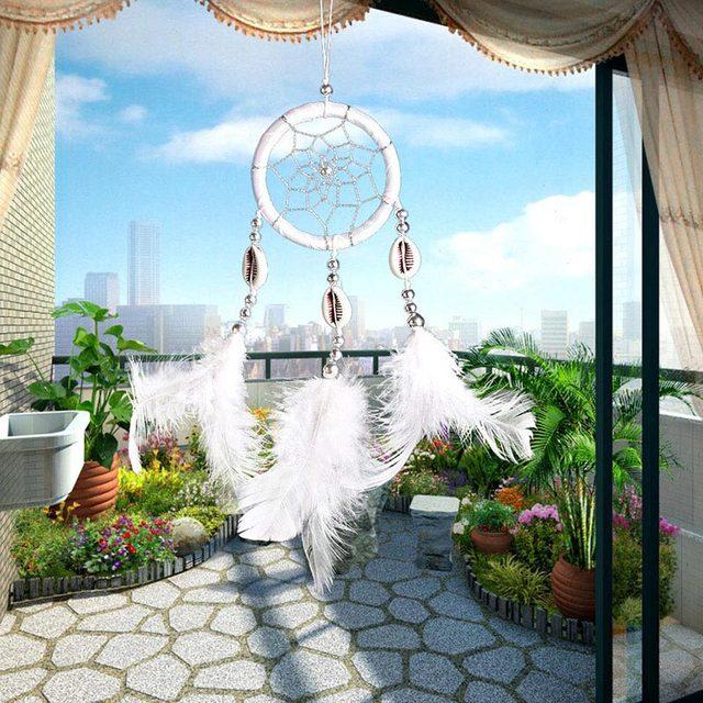 1 unidad decoración del hogar atrapasueños pluma de gran calidad pared colgante de corazón Circular Retro gran oferta Vintage atrapasueños Popular