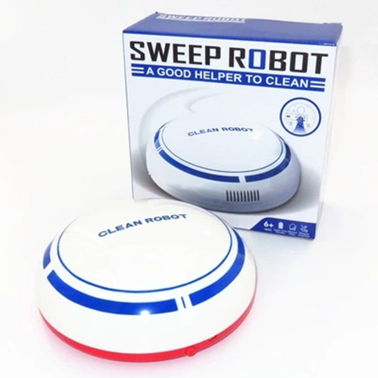 цена на Mini USB Rechargeable Smart Sweeping Robot Slim Sweep Suction Machine Mini Vacuum Cleaner Sweeping Household small clean robot