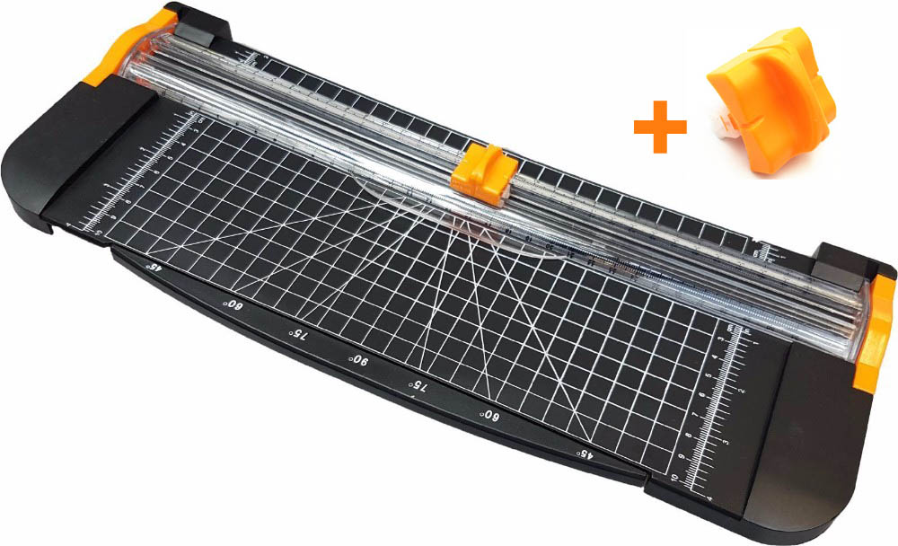 A4 Size Paper Guillotine With Ruler 909-5 Cutting Machine Paper Cutter Paper Trimmer Handmade Slitter +Spare Knife