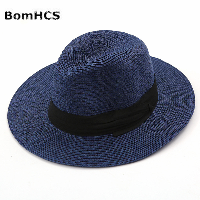 517c5313 BomHCS Women Summer Travel Holiday Sun Hats Beach Straw Hat Caps Wide Brim  Bohemia Style 17F 315MZ24-in Men's Sun Hats from Apparel Accessories on ...