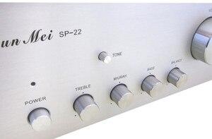 Image 4 - SP 22 amplificateur châssis/préamplificateur châssis panneaux en aluminium/amplificateur boîtier boîtier/ampli boîtier PSU bricolage