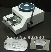 Оптовая цена нержавеющей стали металла тиснения dog tag машина для тиснения номерной знак 52 буквы символов