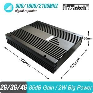 Image 3 - Усилитель мобильного сигнала, 2 Вт, 2G 3G 4G 900 1800 2100 МГц, трехдиапазонный проект GSM UMTS LTE репитер, усилитель 85 дБ 2000 кв. М #46